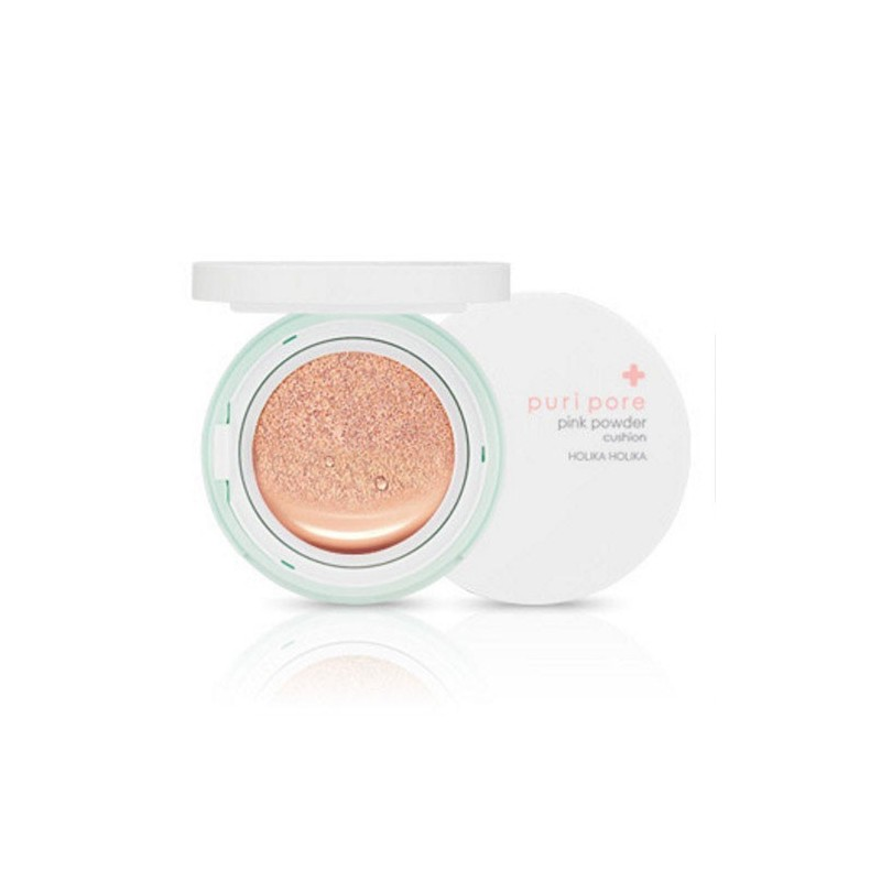 Puri Pore Pink Powder Cushion [Holika Holika]