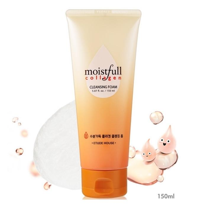 Moistfull Collagen Cleansing Foam [Etude House]