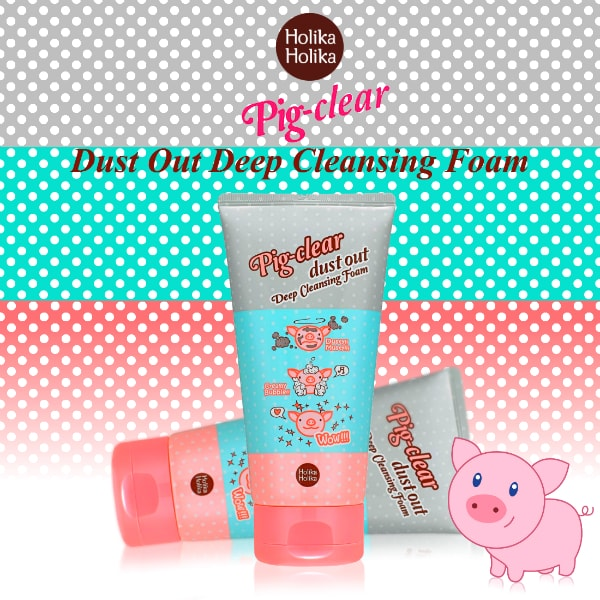Pig-Clear Dust Out Deep Cleansing Foam [Holika Holika]