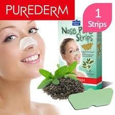 Nose Pore Strips Green Tea [Purederm]