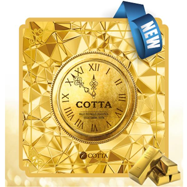 Cotta Gold Hydrogel Mask Pack [JH Corporation]
