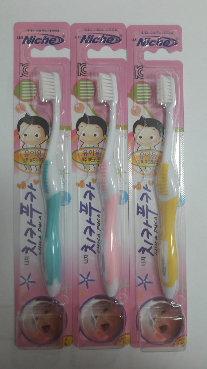Niche Chica Puca Kids 2-4 Toothbrush