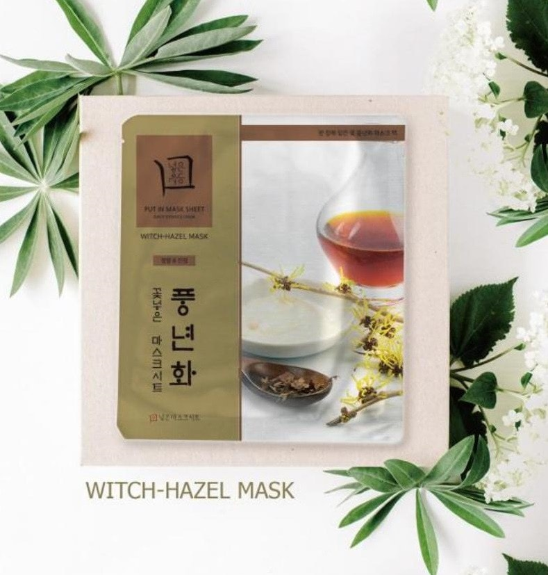 Put Herb In Mask Sheet Witch Hazel [JH Corporation]