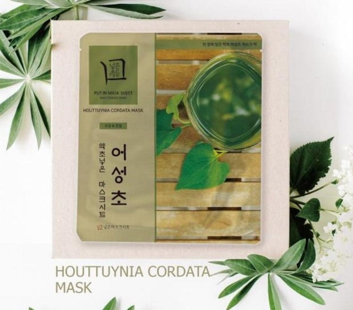 Put Herb in Mask Houttuynia Cordata [JH Corporation]