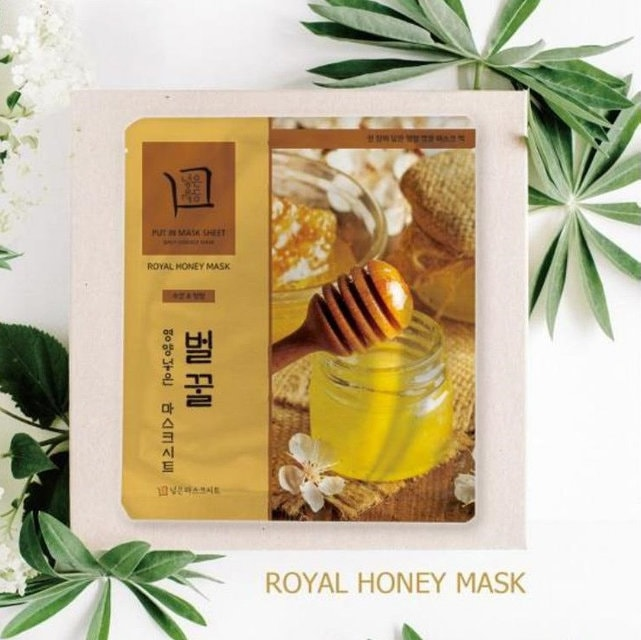 Put Nutrient In Mask Sheet Royal Honey [JH Corporation]