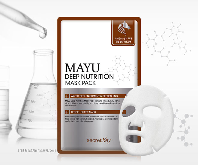 Mayu Deep Nutrition Mask Pack [Secret Key]