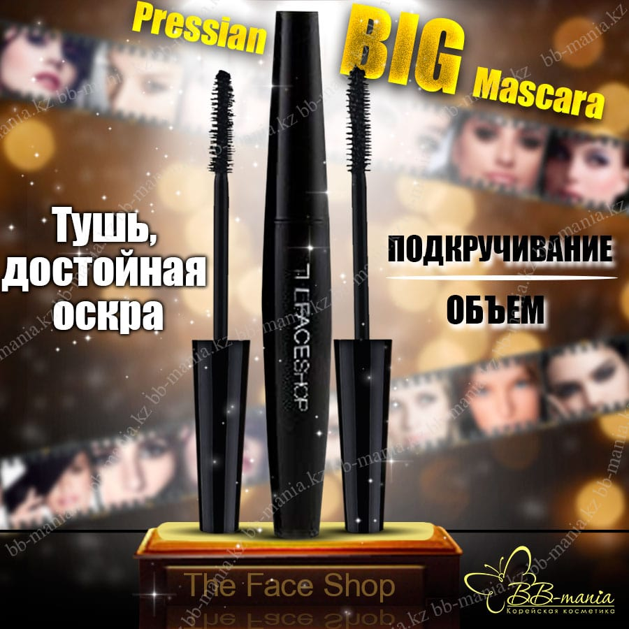 Pressian Big Mascara [The Face Shop]