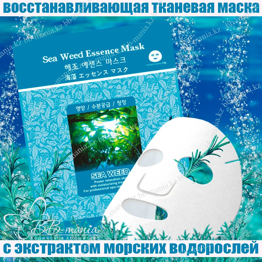 Sea Weed Essence Mask [Mijin]
