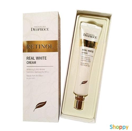 Premium Retinol Real White Cream [Deoproce]