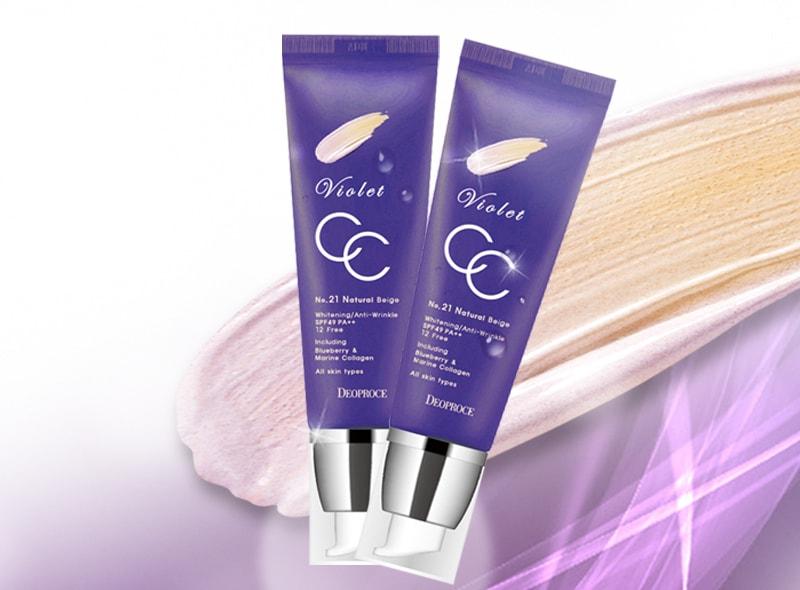 Violet CC Cream [Deoproce]