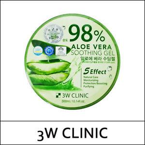 Aloe Vera Soothing Gel 98% [3W CLINIC]