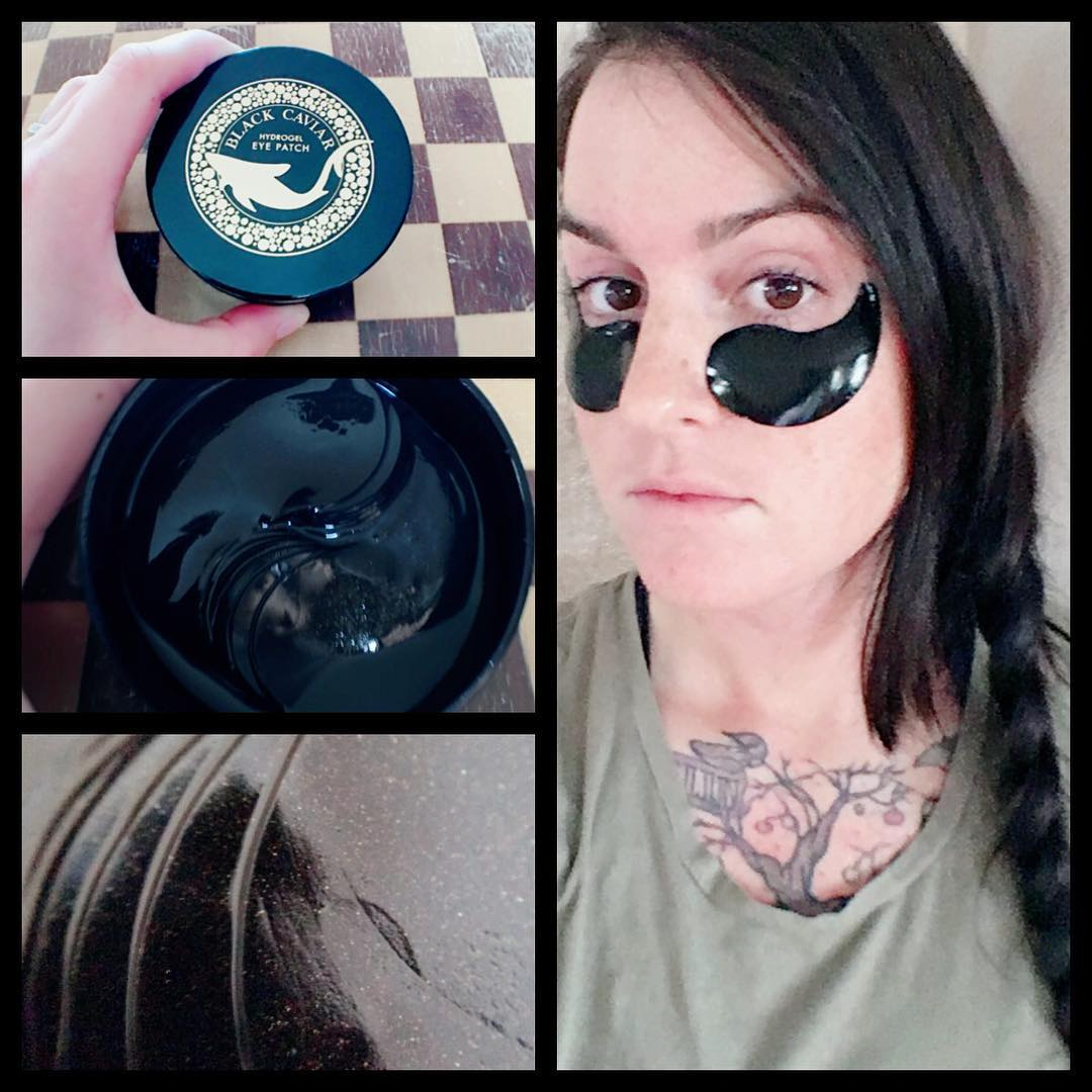 Black Caviar Hydrogel Eye Patch [Esfolio]