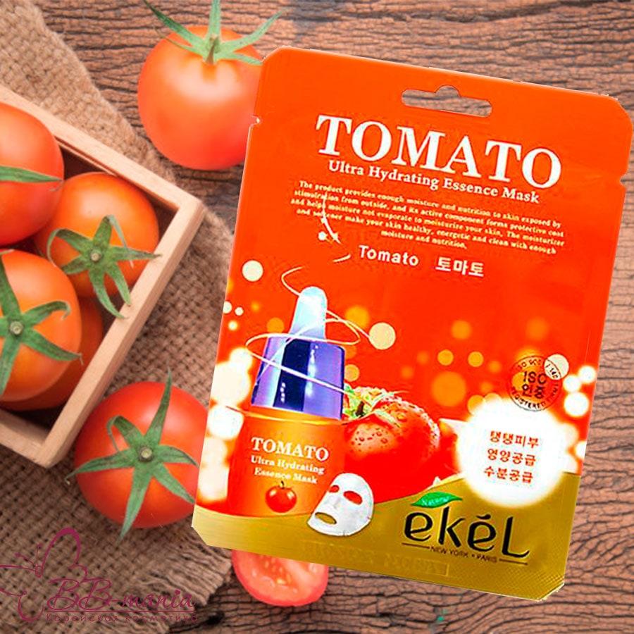 Tomato Ultra Hydrating Essence Mask [Ekel]