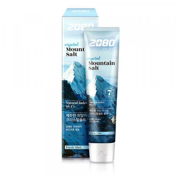 Dental Clinic 2080 Pure Crystal Mountain Salt Toothpaste Fresh Mint [Kerasys]