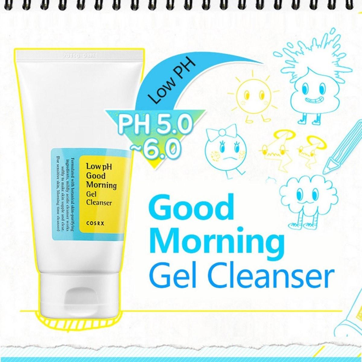 Low pH Good Morning Gel Cleanser [COSRX]