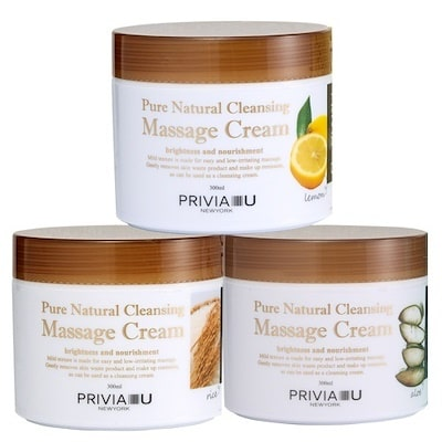 Pure Natural Cleansing Massage Cream Lemon [Privia]
