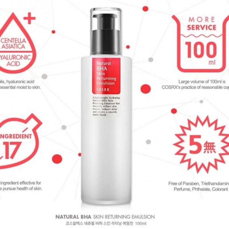 Natural BHA Skin Returning Emulsion [COSRX]