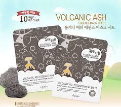 Pure Skin Volcanic Ash Essence Mask Sheet [Esfolio]