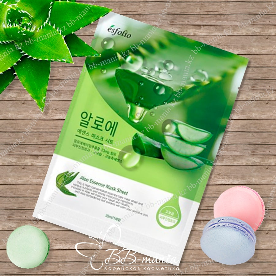 Aloe Essence Mask Sheet [Esfolio]