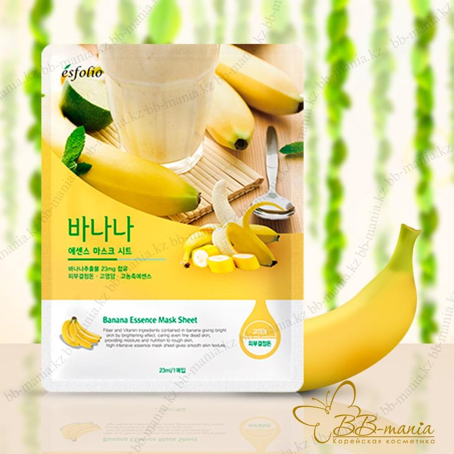 Banana Essence Mask Sheet [Esfolio]