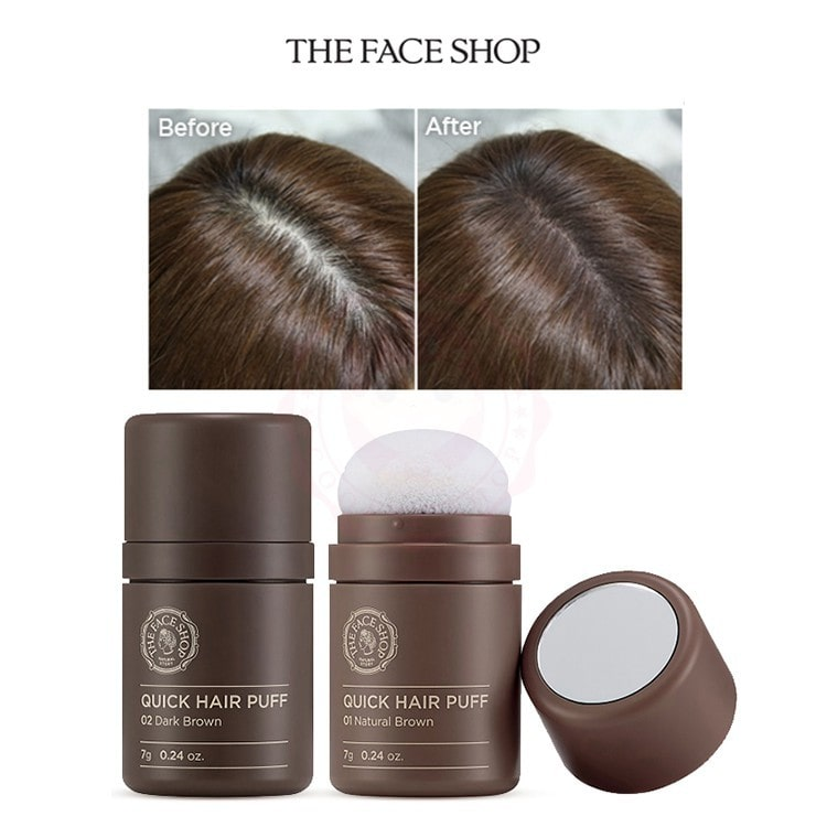 Quick Hair Puff [The Face Shop]