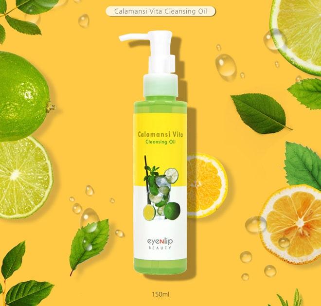 Calamansi Vita Cleansing Oil [EyeNlip Beauty]