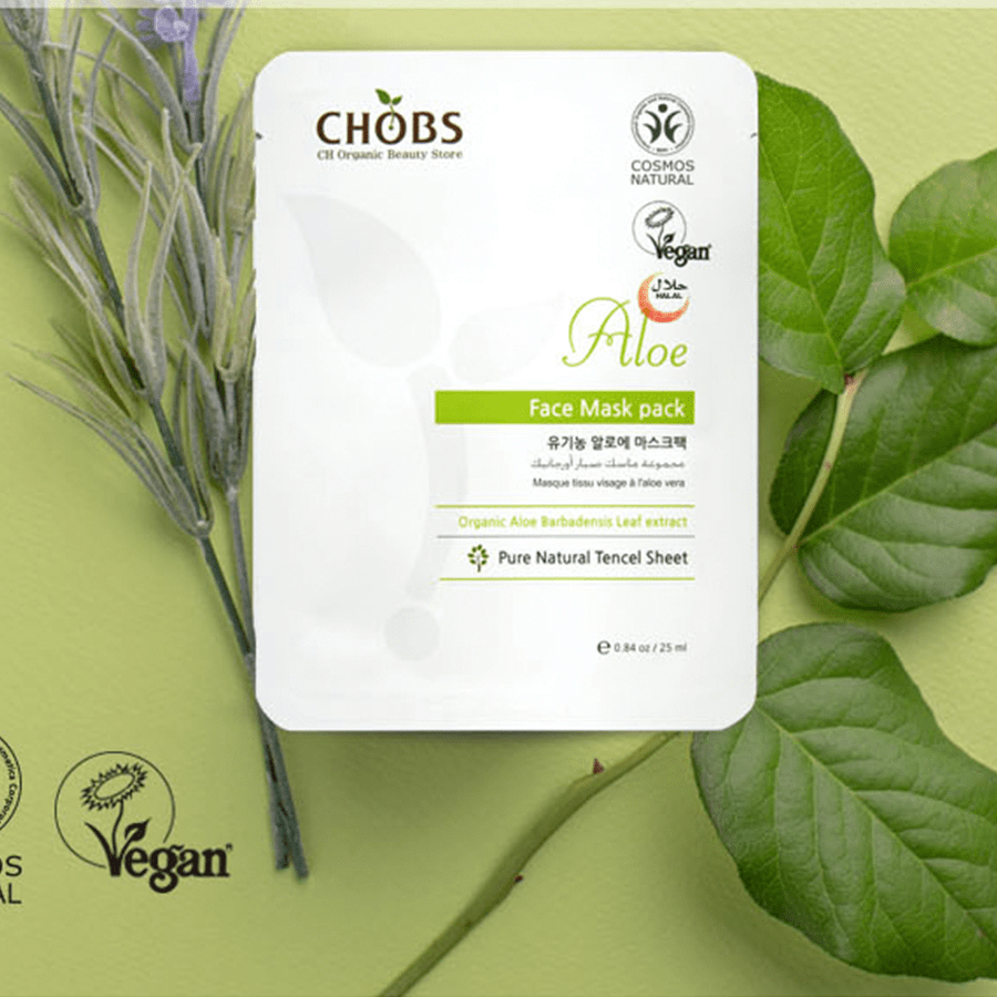 Organic Face Mask Pack [CHOBS]