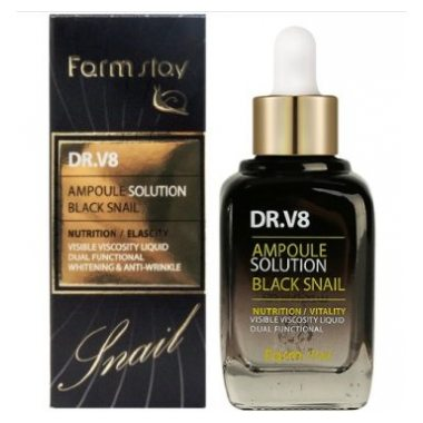 DR-V8 Ampoule Solution Black Snail [FarmStay]
