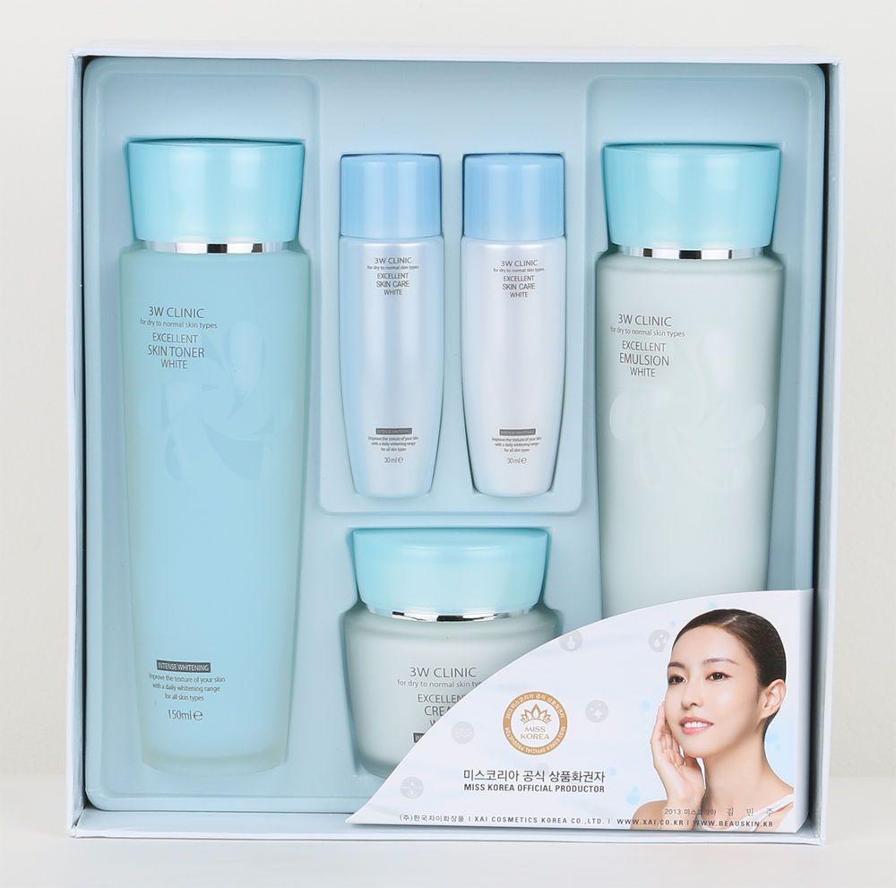 Exellent White Skin Care Set [3W CLINIC]