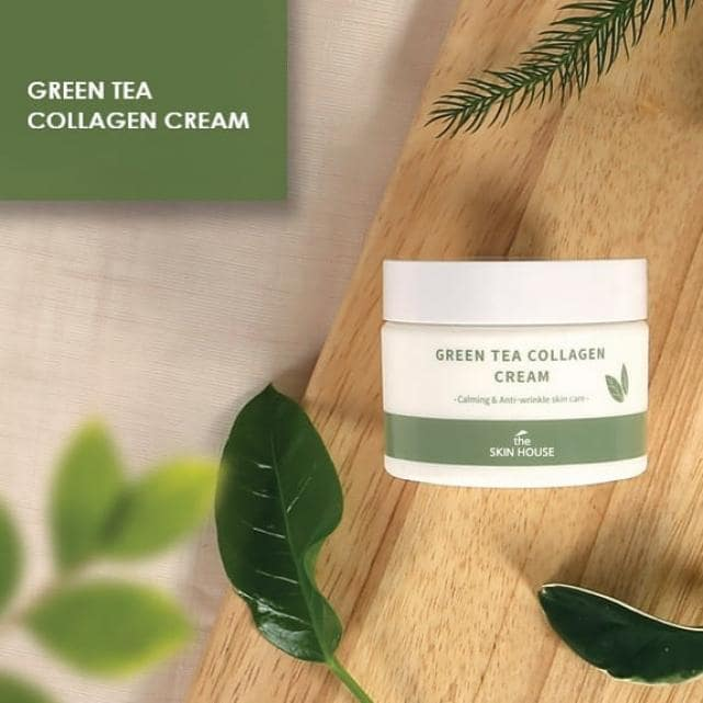 Green Tea Collagen Cream [The Skin House]