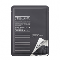 Steblanc Essence Sheet Mask Charcoal [Mizon]