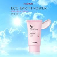 Eco Earth Power Pink Sun Cream SPF50+ PA++++ [THE SAEM]