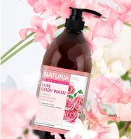 Naturia PURE BODY WASH Rose & Rosemary [EVAS]