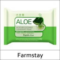 Aloe Moisture Soothing Cleansing Tissue [FarmStay]