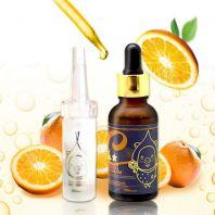 Vitamin C 100% Powder + Vita Multi Whitening Souce Serum [Elizavecca]