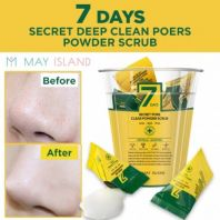 7 Days Secret Pore Clear Powder Scrub [May Island]