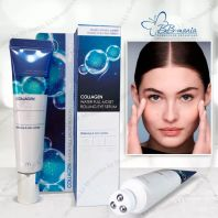 Collagen Water Full Moist Rolling Eye Serum [FarmStay]