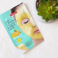 Deep Purifying Yellow O2 Bubble Mask Turmeric [Purederm]
