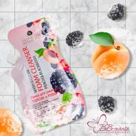 Wash & Clean Foam Cleanser Peach & Blackberry [Skinlite]