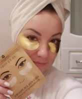 Gold Therapy Gold Foil Eye Patches [Skinlite]