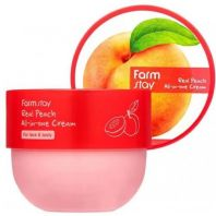 Real Peach All-in-One Cream [FARMSTAY]
