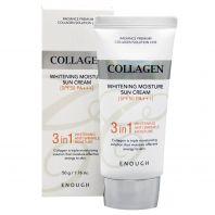 Collagen Whitening Moisture Sun Cream 3 in 1 SPF50+ PA+++ [Enough]