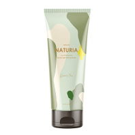 Naturia Creamy Oil Salt Scrub Green Tea [EVAS]