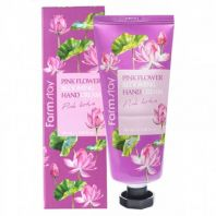 Pink Flower Blooming Hand Cream Pink Lotus [FarmStay]
