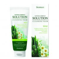 Natural Perfect Solution Cleansing Foam SoapBerry & Cactus Flower [DEOPROCE]