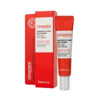 Ceramide Wrinkle Care Relaxing Rolling Eye Serum [FARMSTAY]