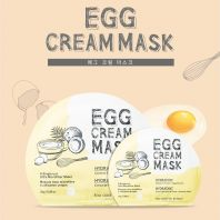 Egg Cream Mask Hydration [Too Cool For School]