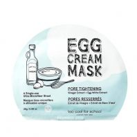 Egg Cream Pore Tightening Mask [Too Cool For School]