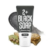 Fresh Blacksoap 2+ Cleansing Foam [A'PIEU]