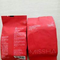 Refill Velvet Finish Cushion SPF50+ PA+++ [MISSHA]